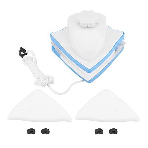 VOBOR Cepillo de Limpieza Limpiador de Ventanas de Doble Cara magnético Ajustable de Forma Limpiacristales 3-24 mm