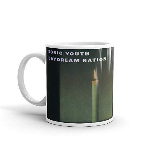 Sonic Youth Daydream Nation Classic Rock Album Cover - Taza de café (11 onzas)