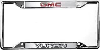 Eurosport Daytona- Compatible with -, GMC/Yukon License Plate Frame