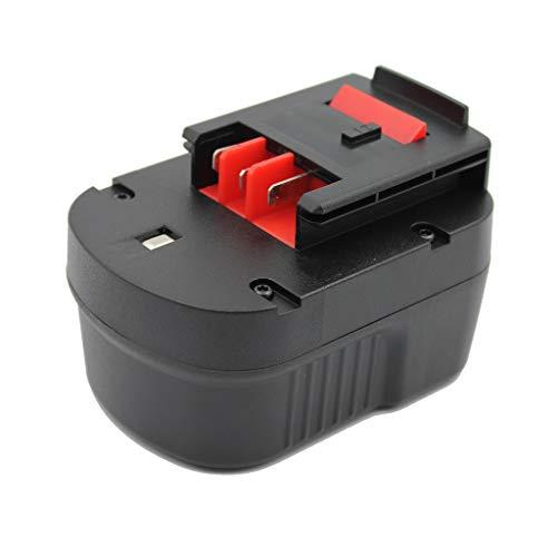 KINSUN Sostituzione Power Tool Batteria 12V Ni-MH 3000mAh Per Black & Decker Cordless Drill Impact Driver di A12 A12-XJ HPB12 A1712 FS120B FSB12 A12EX FS120B FSB12