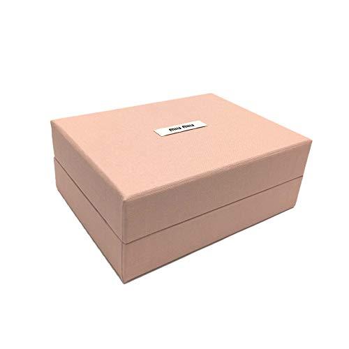[ミュウミュウ]MIUMIUマドラスレザー財布5MH0212BC3F0061レディース三つ折り財布CREMAイエロー[並行輸入品]