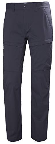 Helly Hansen Skar Aire Libre Hiking Excursionismo Pantalones con Estiramiento, Hombre, Graphite Blue, L