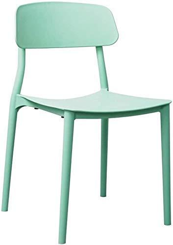 FHW Kunststoff, Modern Durable Hocker, Geeignet for Konferenz/Verhandlung/Büro/Tagungsraum (Farbe: Grün, Größe: 46x45x81CM) FACAI (Color : Green, Size : 46x45x81CM)
