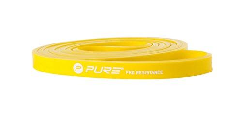 Pure 2Improve Widerstand-Fitnessband Leicht, gelb, 101,6x1,3x0,45cm