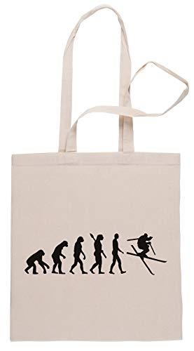 Rundi Evolución Esquí Freestyle Bolsa De Compras Shopping Bag Beige