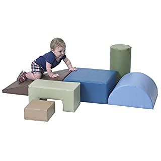 Children's Factory Climb & Play 6 Piece Set for Toddlers, Baby Climbing Toys, Indoor Play Equipment for Homeschool/Classroom/Playroom, Woodland Colors (B07WTMSP8B) | Amazon price tracker / tracking, Amazon price history charts, Amazon price watches, Amazon price drop alerts