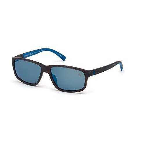 Timberland Hombre gafas de sol TB9186, 55D, 58