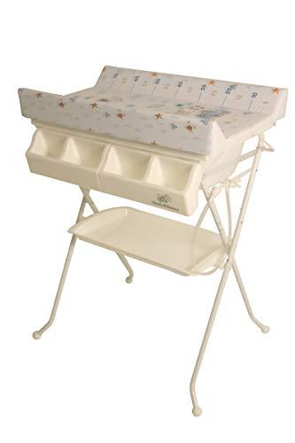 BabeChamp i-Bath - Mesa cambiadora plegable para bebé, precio de venta Euro 1.99 + costo de envío Euro 48.30 (Sailing Bear)