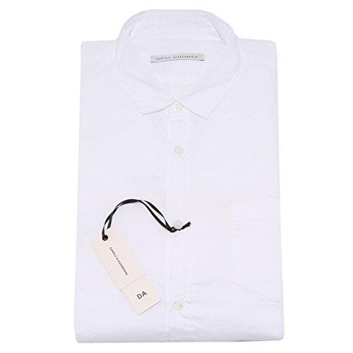DANIELE ALESSANDRINI 5697Q camicia uomo bianco shirt long sleeve men [42 (16 1/2)]