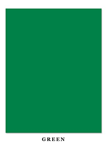 Christmas Green Cards - Colored Card Stock Paper | 50 Sheets Pack | Superior Thick 65-lb Cardstock, Perfect for School Supplies, Arts and Crafts | Acid & Lignin Free | 8.5' x11' | Green