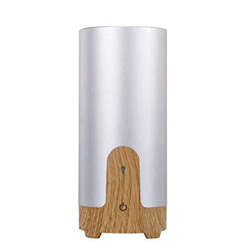 Ultrasone luchtbevochtiger voor de auto, diffuser voor etherische olie, USB, draagbaar, mini-aromalamp met LED-licht 4