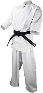 ISAMI(イサミ) 上製フルコンタクト晒空手衣 K-430 ズボンのみ ヒゴワンタオル付き (6号)
