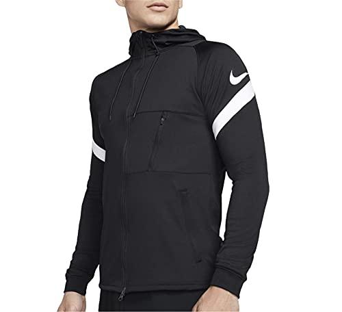 NIKE Strike 21 Full-Zip Jacket Chaqueta con Cremallera Completa, Rojo y Blanco, S/M para Hombre