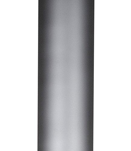 Buschbeck Rohrverlängerung Auckland, hellgrau, 18 x 18 x 100 cm