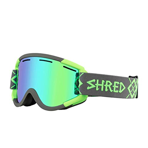 Shred NASTIFY BIGSHOW Grey-Green CBL/Hero Schneebrille, one Size