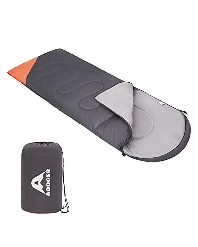 AODOER Sleeping Bag - Sleeping Bag for Adults with Compression Sake - 3 Season Waterproof Camping...