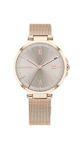 Tommy Hilfiger Dames Analoog Quartz Horloge met RVS Band 1782208