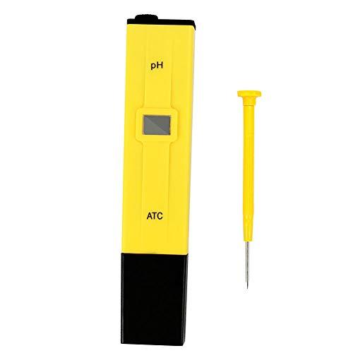 PH Meter Acuario Digital Meter Digital Tester EXACTITUD Calidad DE Calidad DE Agua para EL Tanque DE Pescado para EL HOGAR