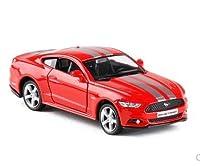 LIFE高シミュレーション 1/36 マスタング GT 合金モデル車 2 ドアプルバックスポーツカーモデルのおもちゃギフト子供のためのコレクション おもちゃの車のる
