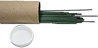 OASIS Floral Products 24 Gauge Oasis Floral Wire - Pack of 300 Lawn Garden, White