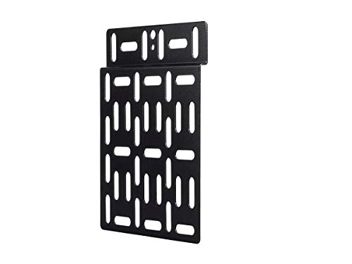 Monoprice Grid Style Media Player Mount Heavy-Duty Steel Construction with Powder-Coated Finish