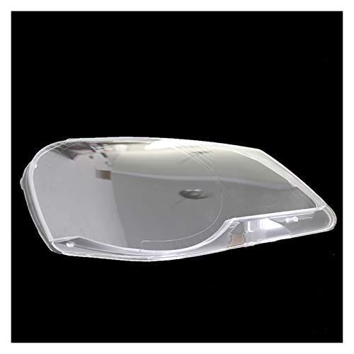 SHPING® Fit für VW Polo 2006 2007 2008 2008-2010 Vordere Scheinwerfer Transparente Lampenschirme Lampe Hülle Masken Scheinwerfer Abdeckungslinse Scheinwerferglas (Color : Right Side 1 Piece)