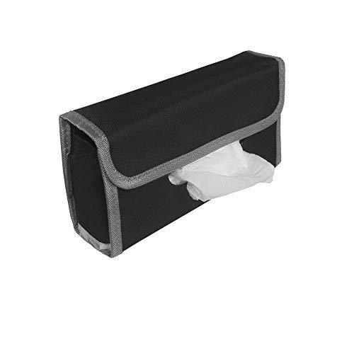 FH Group Car Visor Tissue Holder & Napkin Case - Tissue Case for Cars, Gray Color