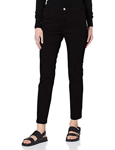 United Colors of Benetton Damen Pantalone Hose, Schwarz (Nero 700), 40 (Herstellergröße: 46)