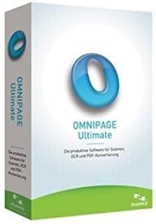 Nuance OmniPage Ultimate - Complete Product - 1 User - OCR Utility - Local Government, State Government Retail - DVD-ROM - PC - English