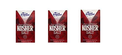 Diamond Crystal Kosher Salt, 48 Ounce (Pack of 3)