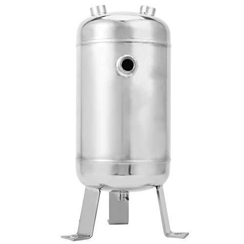 5L/1.32 Gallon Air Tank, Small Air Compressor, High Pressure Vertical 4-Port Gas Storage, for Automotive Energy Storage Tanks, Vacuum Buffer Tanks.