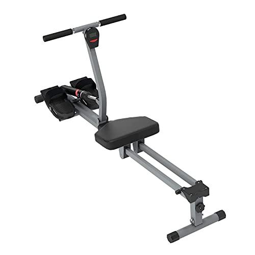 SogesHome Vogatore, Resistenza Regolabile,Attrezzatura da Allenamento con Monitor LCD Adatta per Home Gym, Cardio & Allenamento della Forza,Sh-YKTH-PM-B