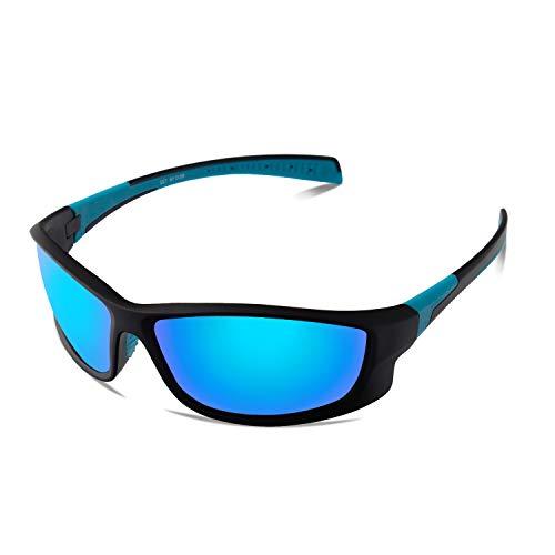 BangLong Polarisierte Sonnenbrille Sportbrille Fahrradbrille für Herren Damen UV400 Schutz , für Autofahren Radfahren Angeln Golf TR90