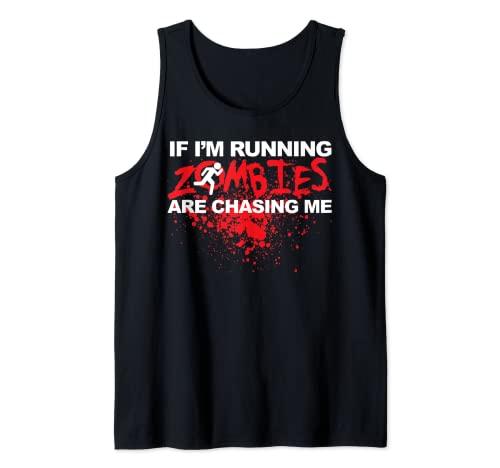 Si estoy ejecutando Zombies me estn persiguiendo Camiseta sin Mangas