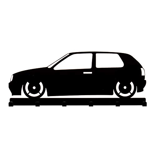 Schlüsselbrett VW Golf 3 in schwarz