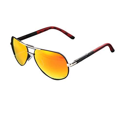 BARCUR aluminio magnesio para hombre gafas de sol para hombre con revestimiento polarizado gafas accesorios