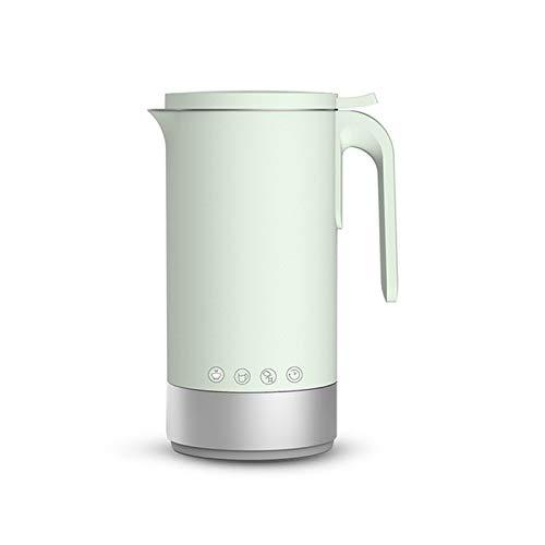 BMMMZ Soymilk Maschine Gekochte Wasser Automatik Mini Elektroheizung Soja-Milch Entsafter Stir Reispaste Maker Filter frei 350ml (Color : Green)