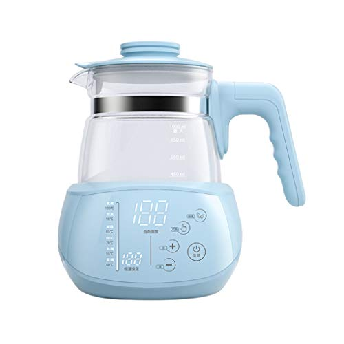 Great Features Of 1L Electric Kettle Formula Warmer Glass Coffee Pot, Baby Bottle Warmer, Water Bath...