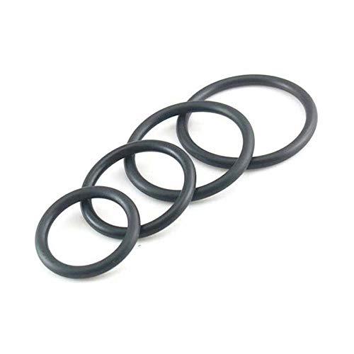 Z-one 1 4Pcs / Set Anillo de bandas de goma el¨¢sticas extra suaves de silicona para juego masculino o en pareja (32 mm, 38 mm, 45 mm, 50 mm)