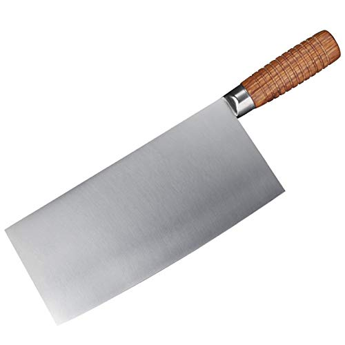 Cuchillo de cocina de la cuchilla de 9 pulgadas 4CR13MOV Cocina de acero inoxidable Cuchillo de corte de cuchillo Razor Sharp Restaurante Chef Herramienta Cuchillo de cocina profesional