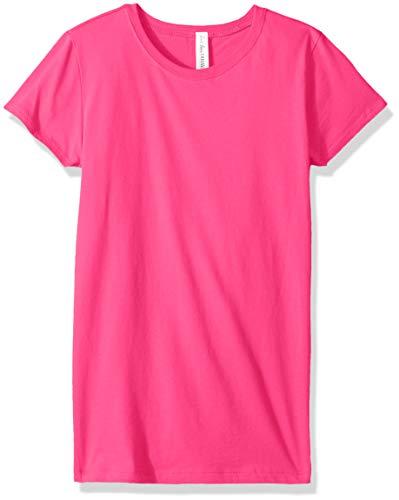 Ouray Sportswear Kinder T-Shirt Prinzessin, Unisex-Kinder, kurzärmelig, Princess Tee, Himbeere, Small