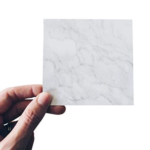 ADDFOO 20 Pcs/Lote Cloruro De Polivinilo Impermeable Pegatina Diagonal Azulejos 10X10Cm Autoadhesivo Calcomanía De Azulejos De Baao 3D Etiqueta Engomada De La Decoración del Piso