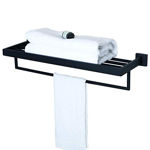 Sayayo Soporte de toalla para bastidor de baño con 1 barra