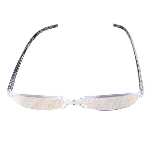 THG Marco Gent Unisex Negro Gafas de lectura Gafas Gafas Reader Ampliaci¨®n Visi¨®n Lupa Clip de bolsillo Caso 1,50 dioptr¨ªas