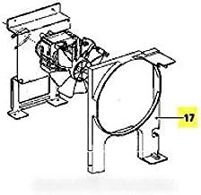 Miele–Conducto de ventilación repere 17para Micro microondas Miele