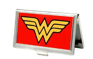 Wonder Women Logo Metal Business Card / ID Holder