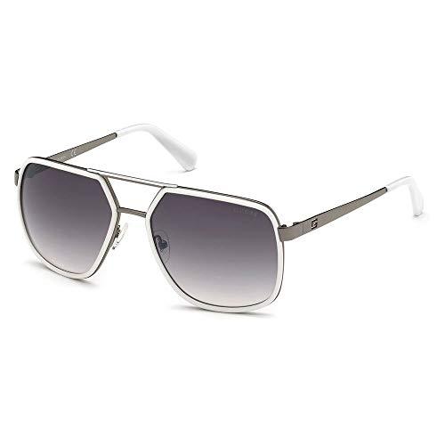 Guess Gafas de Sol GU6978 White/Smoke 58/17/145 hombre