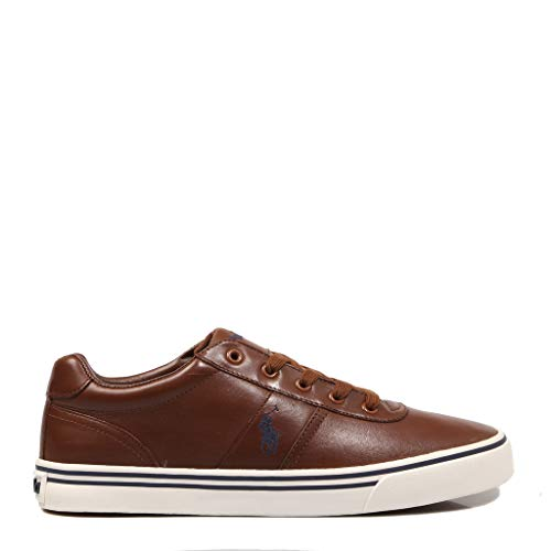 Polo Ralph Lauren, Hanford Leather Tan, Zapatillas