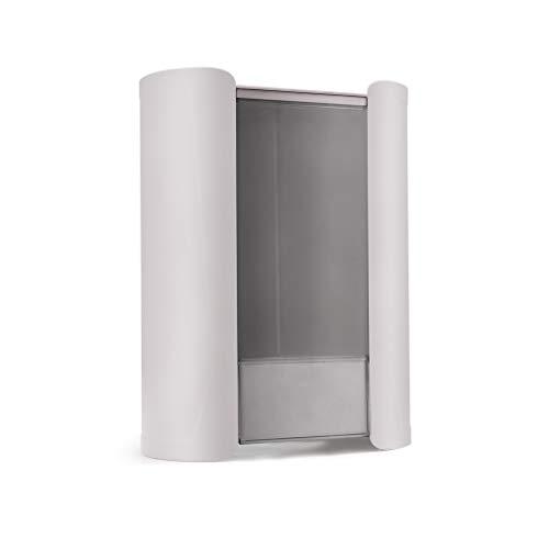 ZXX. Dispensador de Vasos para dispensador de Agua, Antipolvo, Impermeable, Papel plástico, Agua, desechable, portavasos, Estante, Caja, contenedor, Montaje de Pasta
