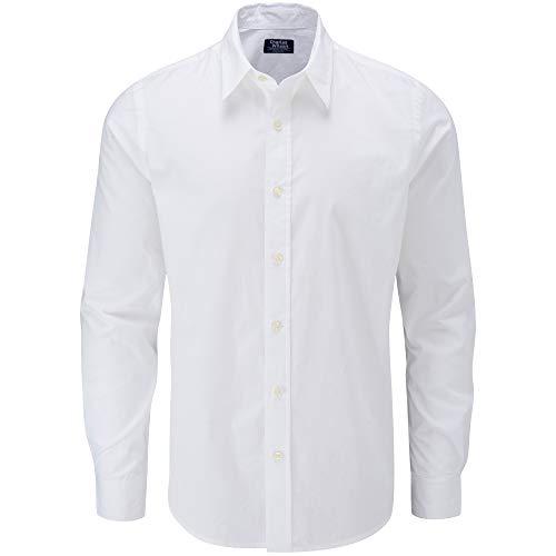 Charles Wilson langärmliges Freizeithemd (XX-Large, White)
